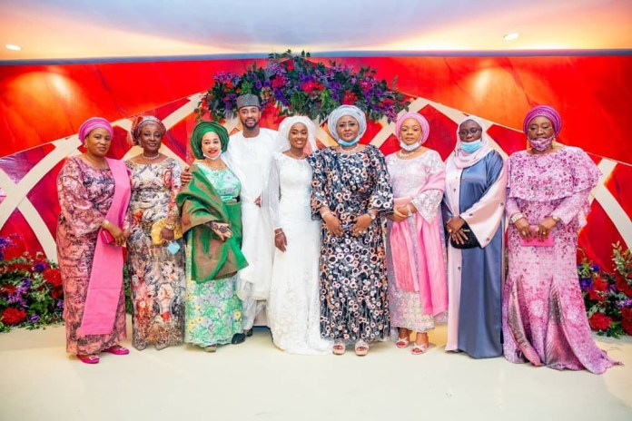 Photos from the wedding of President Buhari