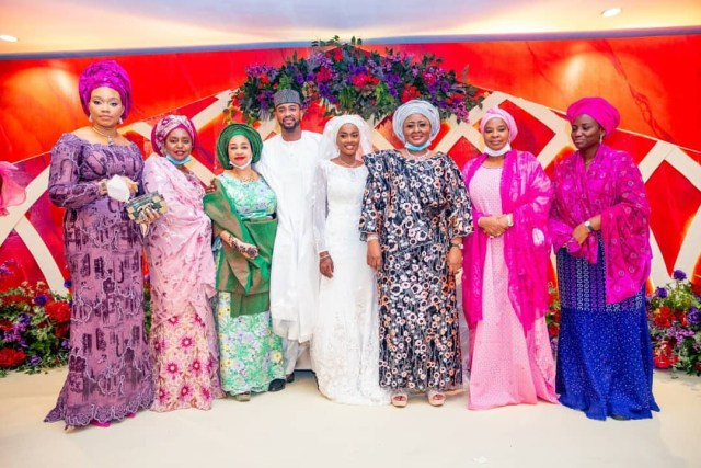 Stunning Photos from Hanan Buhari's Wedding in Aso Villa