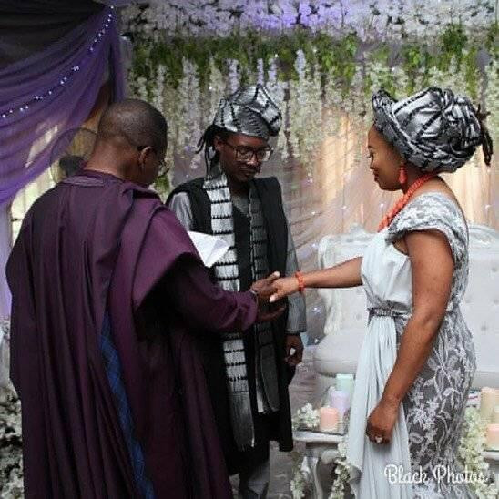 Rapper Jesse Garba Abaga, ties the knot with his heartthrob (photos)