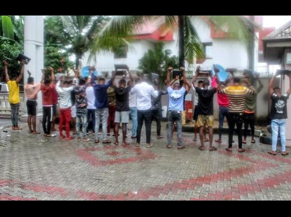 EFCC arrests 22 suspected Internet Fraudsters in Owerri