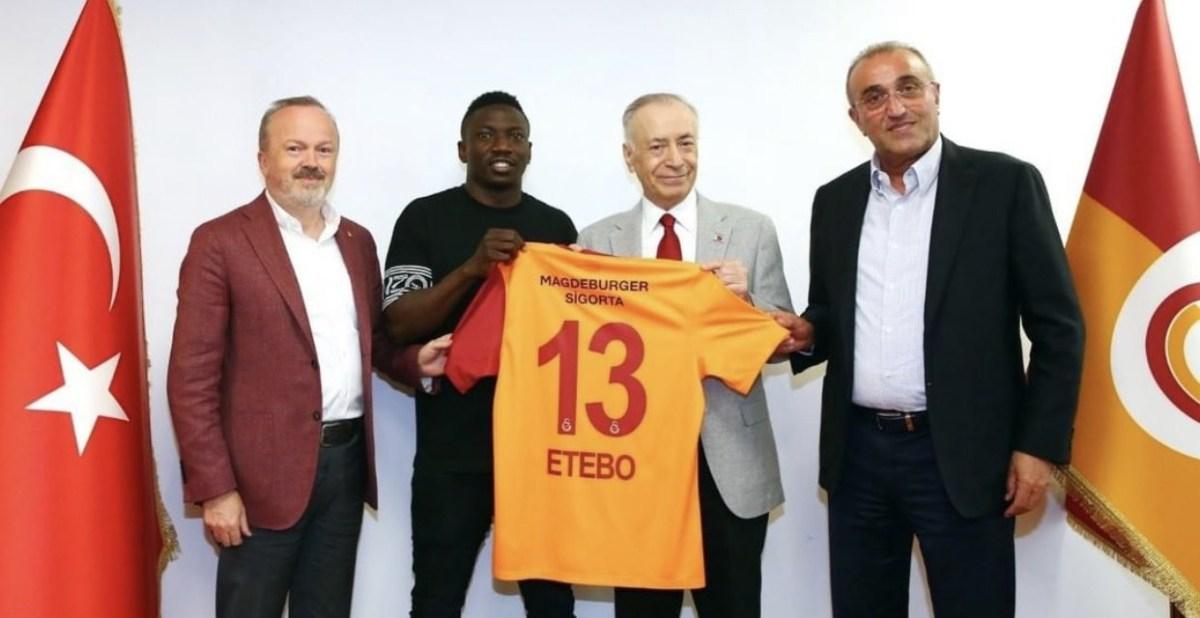 Super Eagles midfielder, Oghenekaro Etebo joins Galatasaray on loan from Stoke City