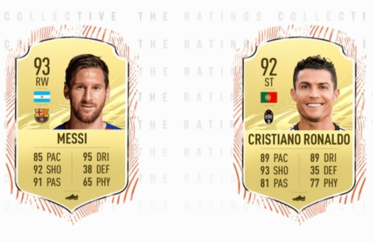 ?Lionel Messi beats Cristiano Ronaldo to be the highest-rated player in FIFA 21