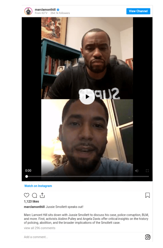 Jussie Smollett speaks about alleged 2019 homophobic attack for the first time