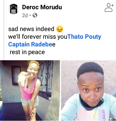 23-year-old South African woman brutally stabbed to death by jealous ex-boyfriend after repeatedly telling people he was going to kill her