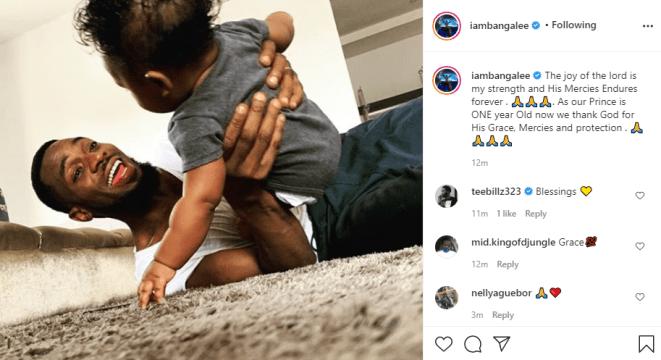 Dbanj celebrates his son on his 1st birthday (Photo)