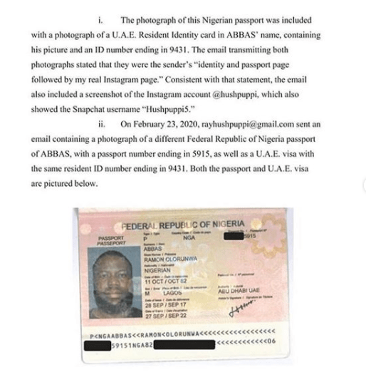 New evidence submitted against Hushpuppi in California