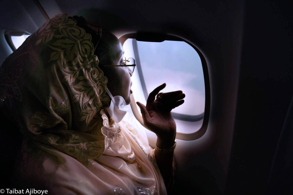 Stop wasting scarce resources ? Nigerians criticize Humanitarian affairs Minister, Sadiya Farouq after she flew over Kainji dam to access impact of flooded banks