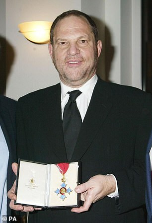Queen Elizabeth II strips Harvey Weinstein of his CBE after he was jailed for 23 years for rape in New York