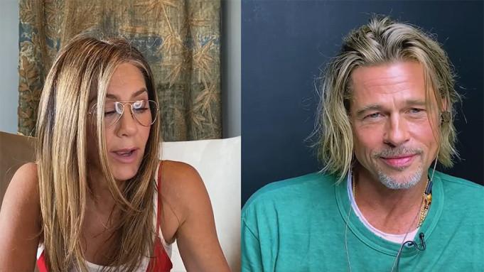 Jennifer Aniston and Brad Pitt reunite for
