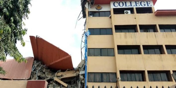 School building collapses in Lagos (photos)