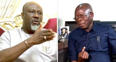 Dino Melaye mocks Oshiomhole over Edo governorship election in new song (video)