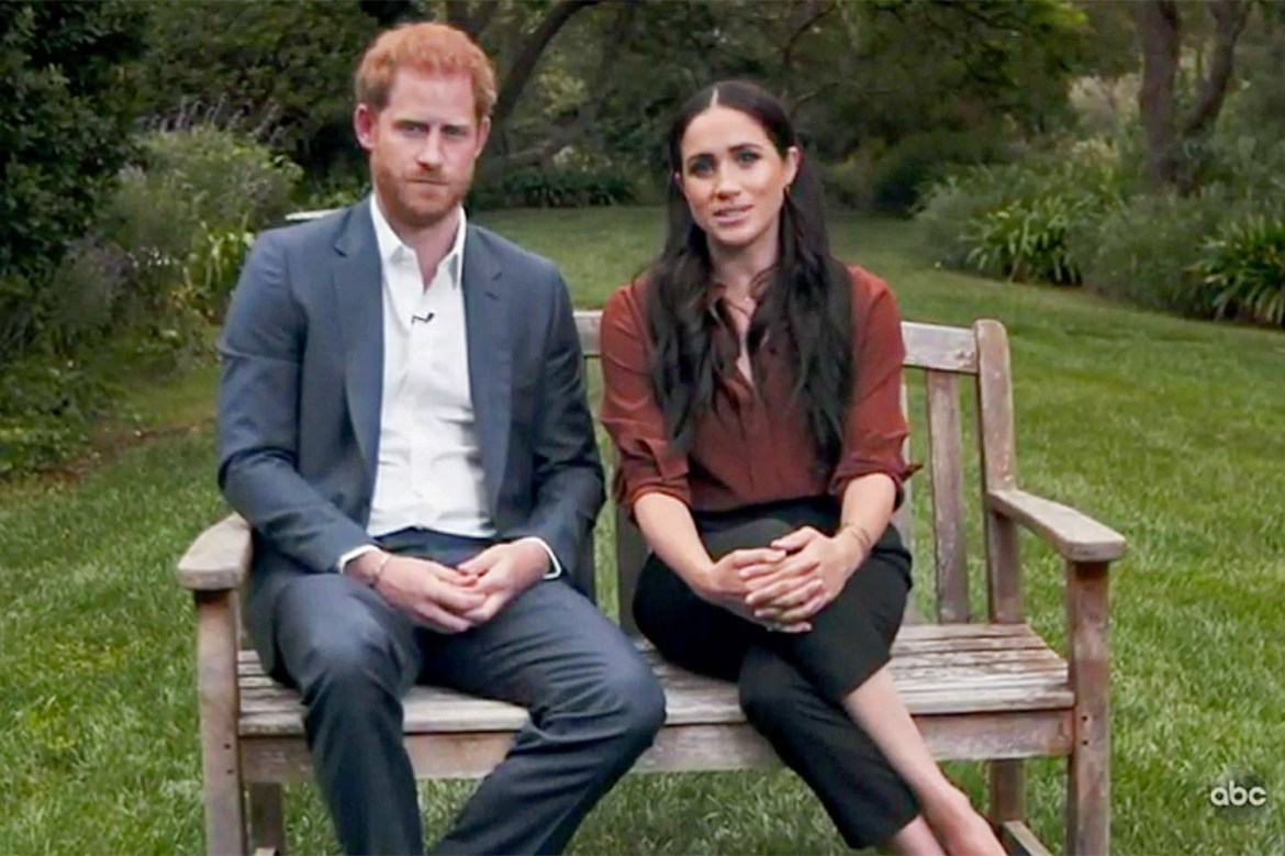 Meghan Markle and Prince Harry appear in the new TIME100 TV special to celebrate TIME Magazine
