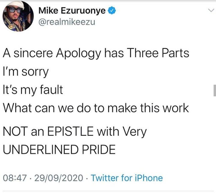 Mike Ezuruonye finds faults with Kunle Afolayan