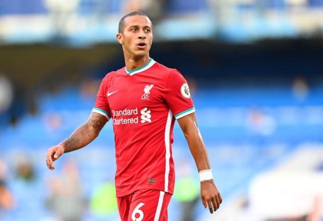Liverpool midfielder, Thiago Alcantara tests positive for Coronavirus