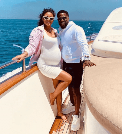 Kevin Hart and wife Eniko announce the arrival of their second child, a baby girl named Kaori Mai?