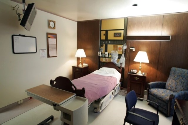 See the secure VIP presidential suite at the National military hospital where Trump will be receiving Covid-19 treatment (photos)