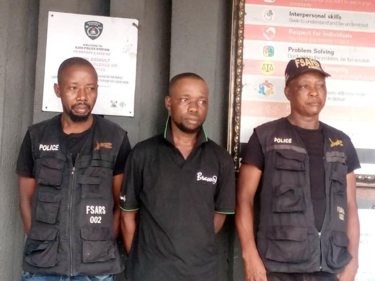Two FSARS operatives, civilian accomplice arrested in Lagos for extortion and intimidation of citizens