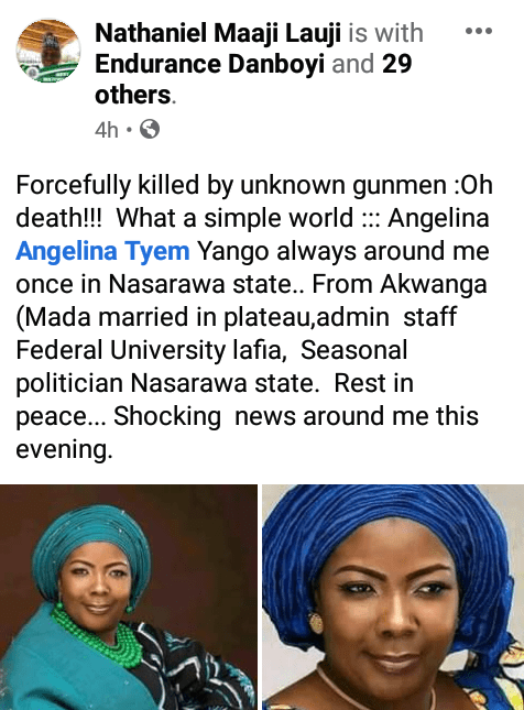 Decomposed body of senior university staff found with stab wounds in Nasarawa, car, phones missing