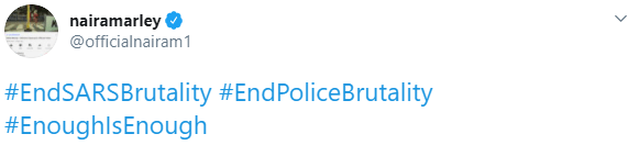Naira Marley to lead #EndSARSbrutality protest tomorrow October 6
