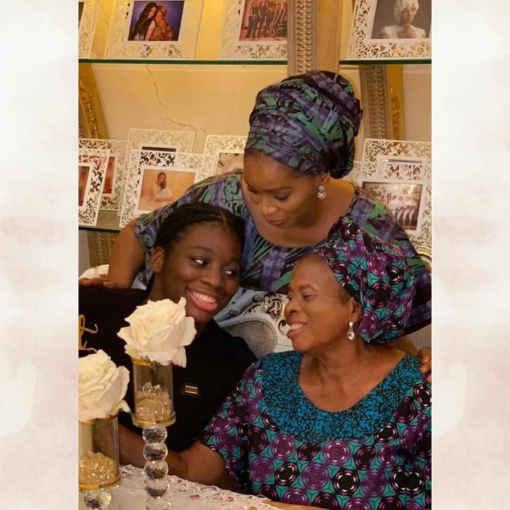 Shade and Rasaq Okoya celebrate their daughter who turned 16 (photos)