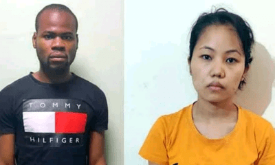 Nigerian man and his Indian girlfriend arrested for duping people by posing as British citizens