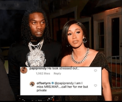Rapper, Offset says he