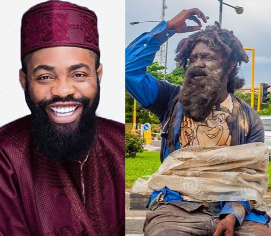 ?A guy nearly slapped me,? comedian Woli Arole recounts his experience after dressing like a mentally ill person on the streets of Lagos State