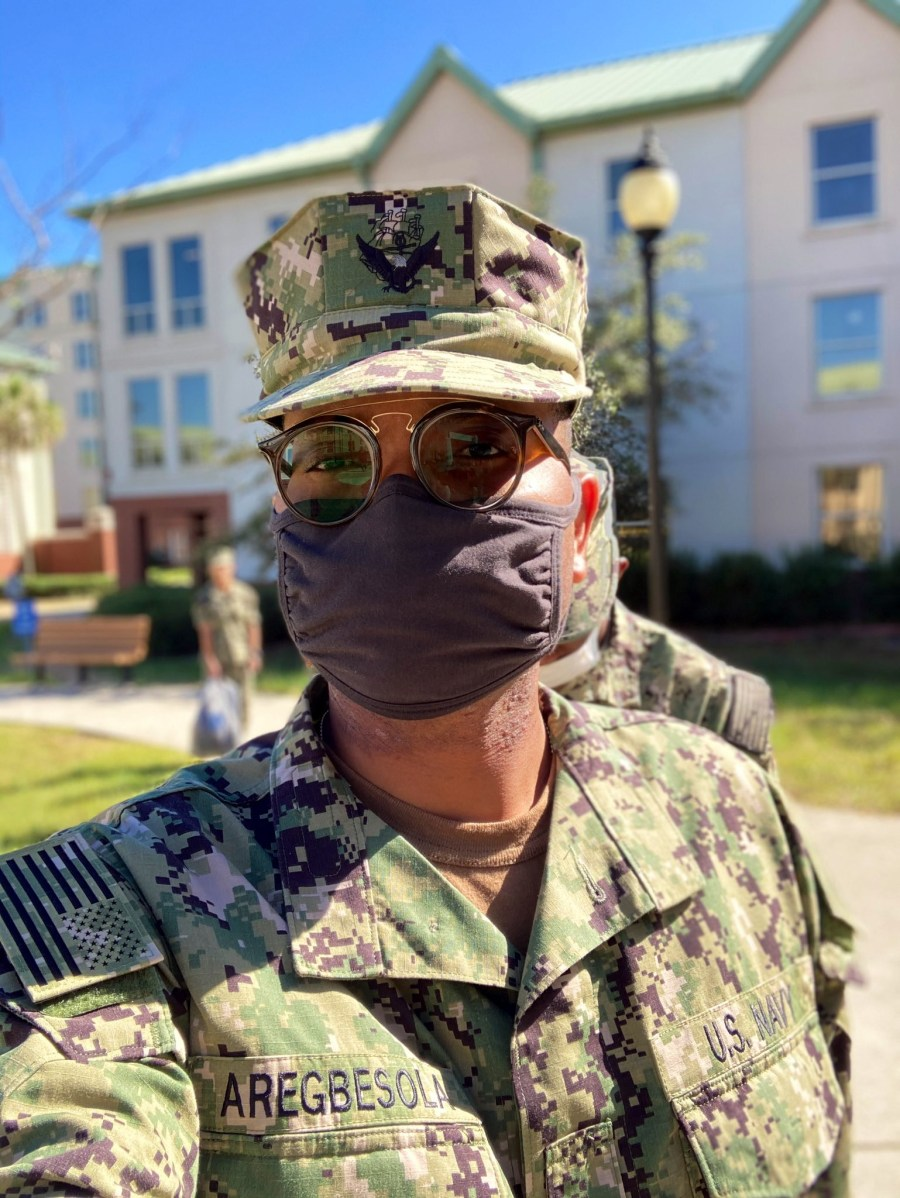 """""""I was jobless for so many years, my country of birth failed me but U.S. Navy saw potentials in me"""" - Navy officer writes after he renounced Nigeria to join U.S Military"""