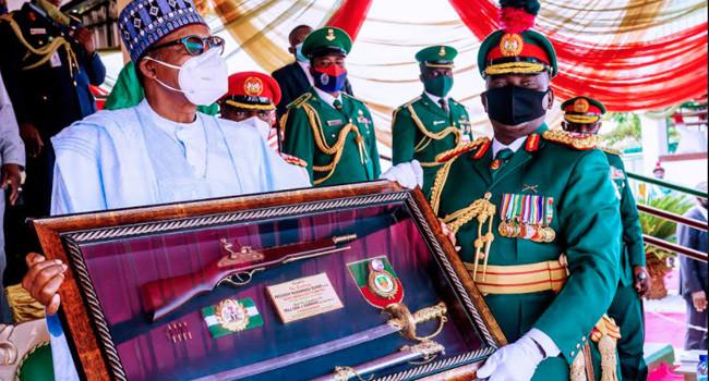 Buhari attends Passing Out Parade of 67 Cadets in Kaduna lindaikejisblog 5