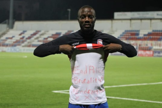 #EndSARS protest: Nigerian footballer, Tony Edjomariegwe narrates how SARS officers allegedly demanded for $1,000 from him after saying