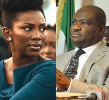 Your mustache says it all, you have chosen to be a dictator - Genevieve Nnaji knocks Governor Wike for banning #EndSARS protest in Rivers state