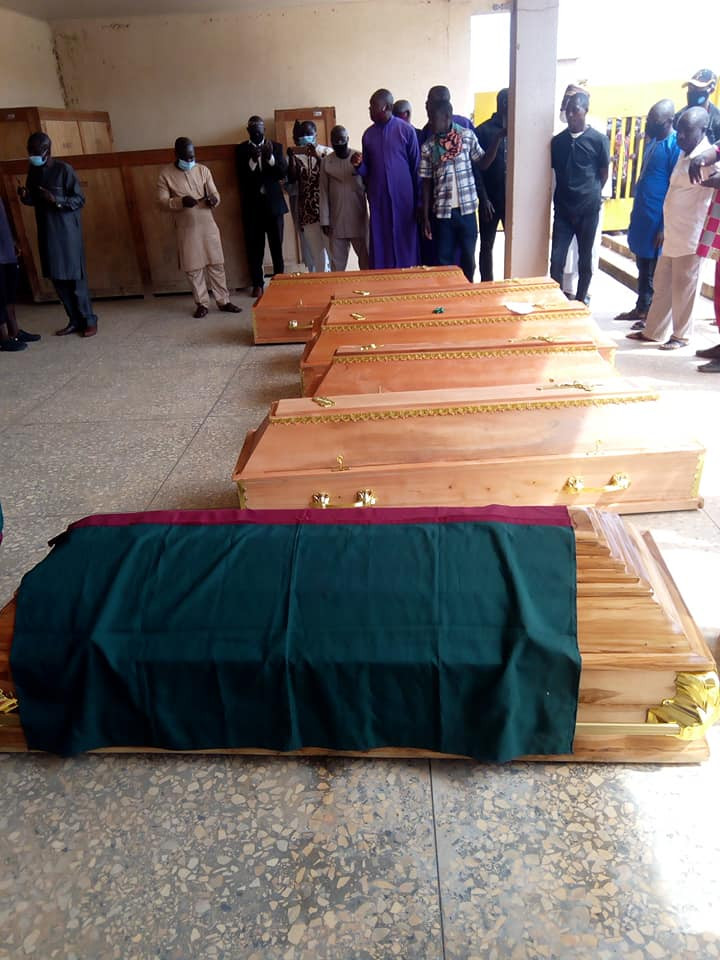 Victims of suspected Fulani militia attack laid to rest in Plateau State
