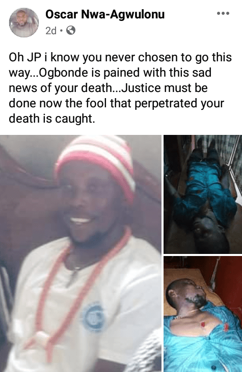 Man stabbed to death by 15-year-old boy during football match in Imo