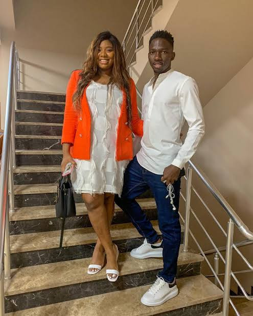 Super Eagles defender, Kenneth Omeruo shares adorable photos of his beautiful daughters
