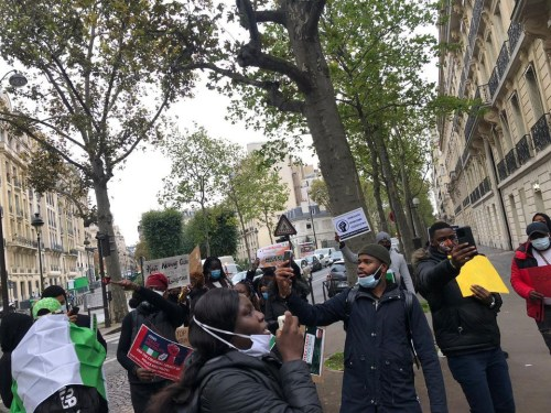 Nigerians in France