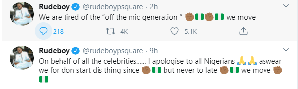 Celebrities should have started the #EndSARS protest a long time ago - Paul Okoye
