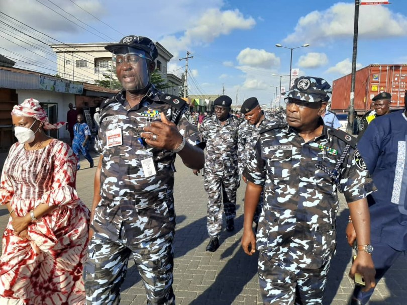 Lagos CP compelled by End SARS protesters to trek for 10 KM to visit Ojah Bee