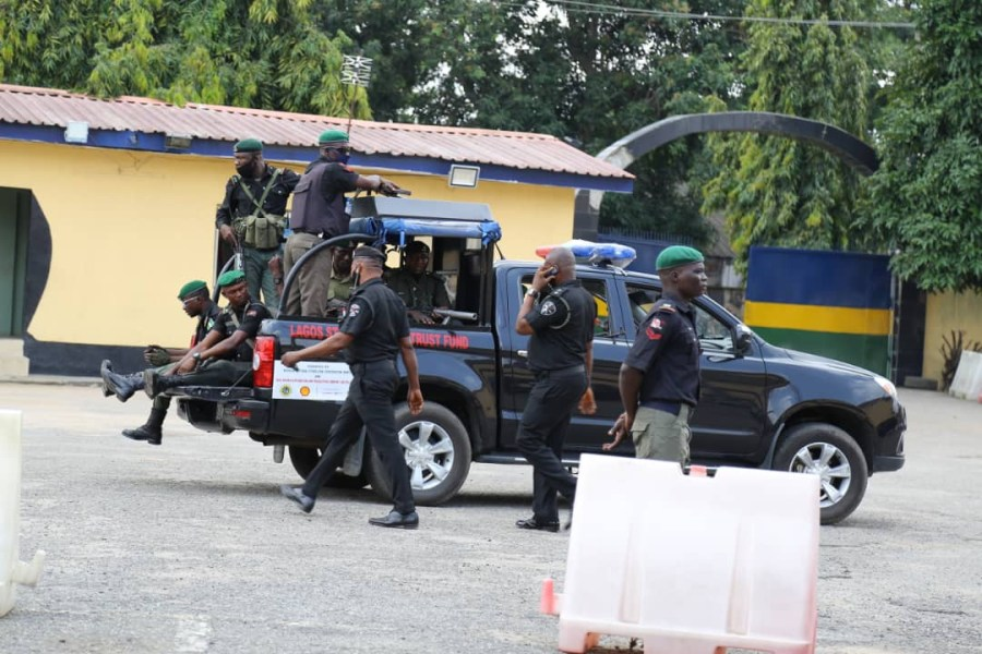 Lagos state police command confirms attack on Orile police station, vows to enforce 24-hour curfew imposed by Gov Sanwo-Olu