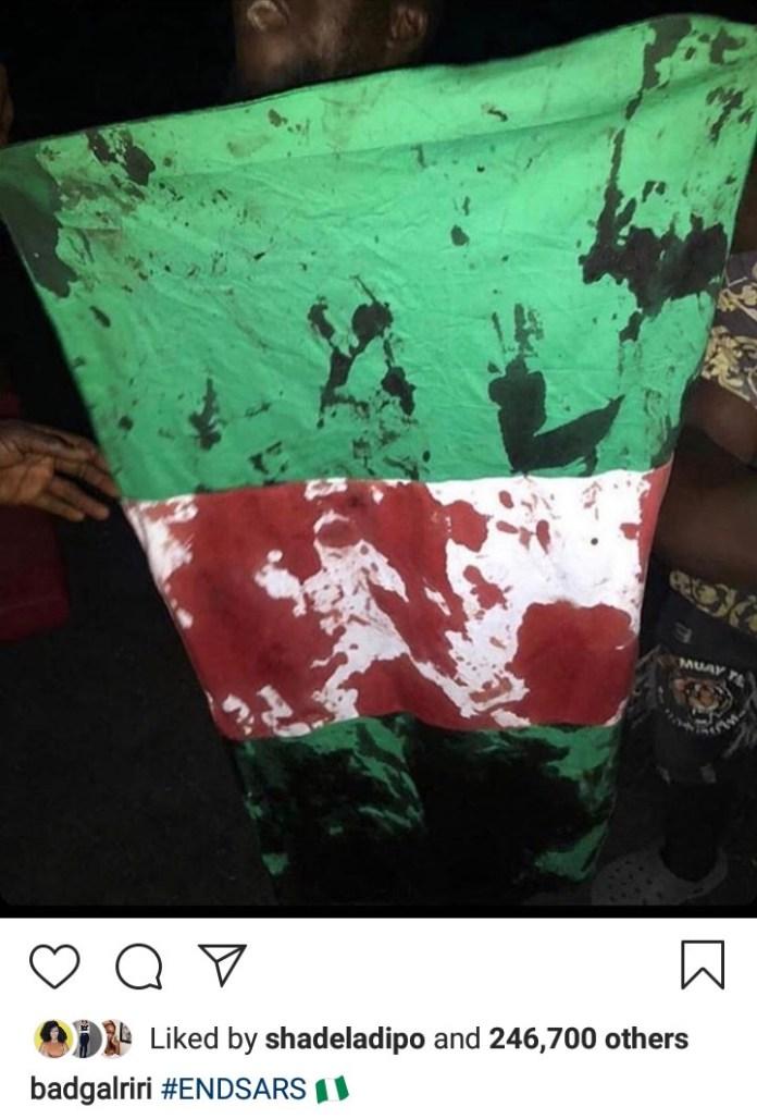 Rihanna, Naomi Campbell, Nicki Minaj condemn murder of End SARS protesters at Lekki toll gate