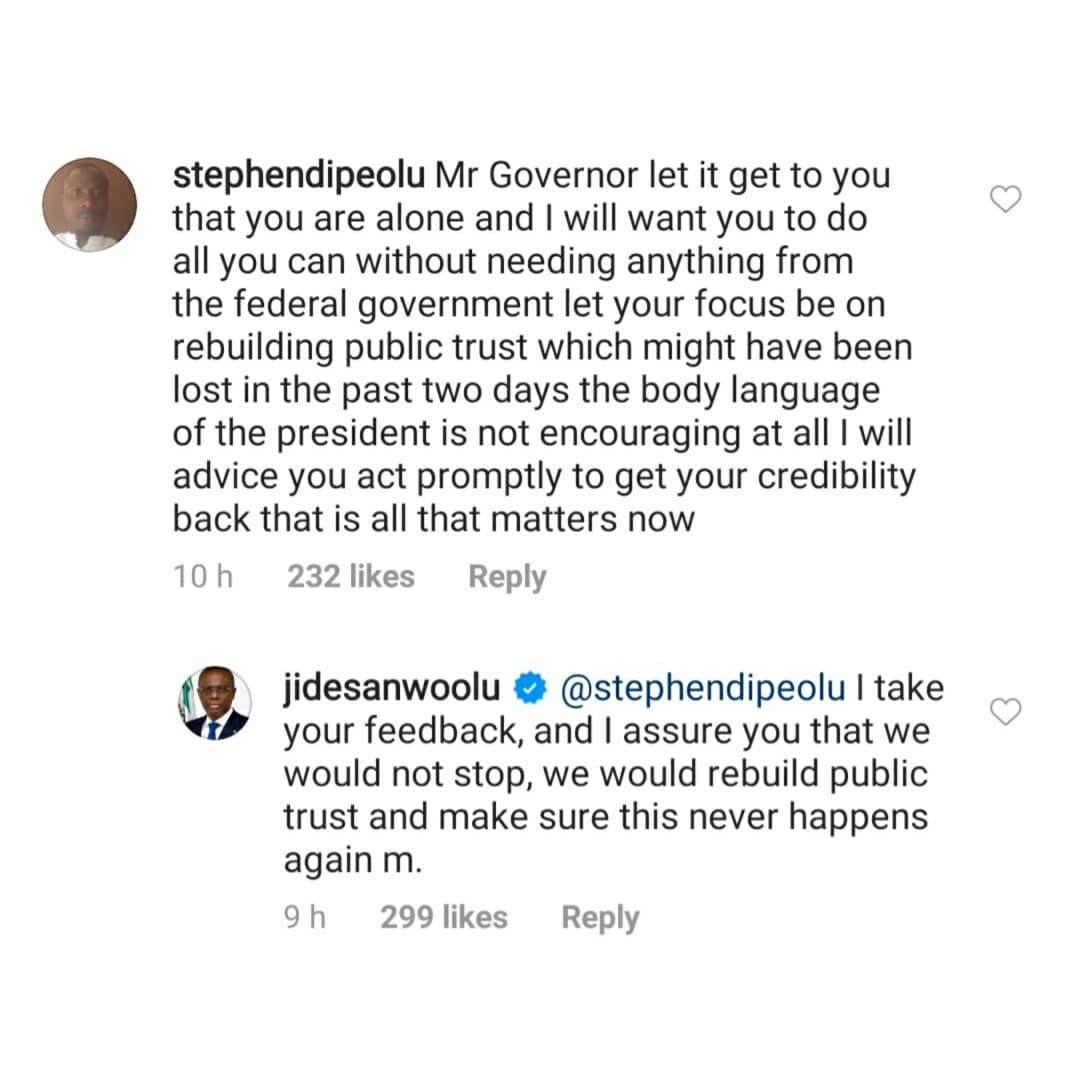 'I can't'' - Gov Sanwo-Olu replies IG user who asked him to summarize President Buhari's speech 2