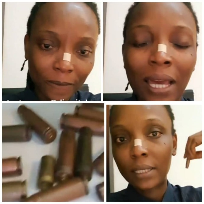 5f92f55c230e6 We counted 15 dead bodies - DJ Switch breaks her silence since the lekki tollgate gunfire incident (video)