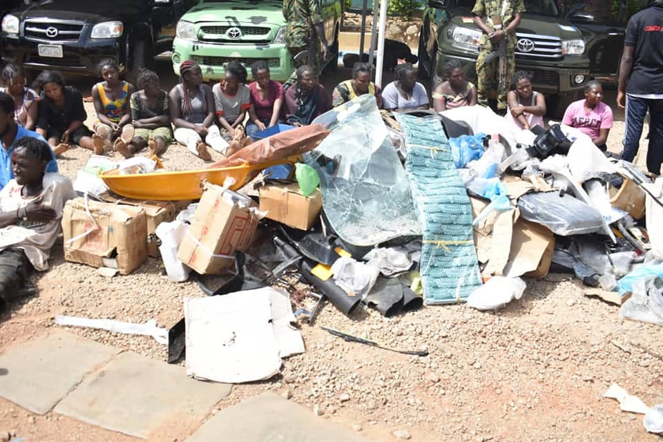 Operation Safe Haven arrest 30 looters who attacked former Speaker Dogara