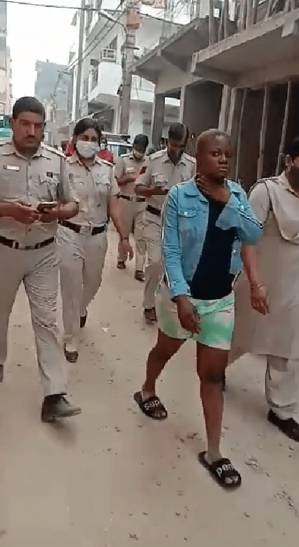Nigerian woman allegedly stabs her Nigerian boyfriend to death in India during heated argument (photos/video)