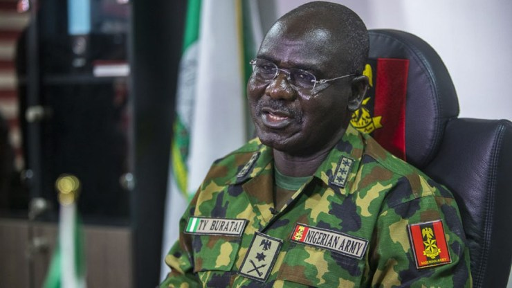 Criminal minds are threatening Army with travel ban. I don?t mind living in Nigeria ? COAS, Tukur Buratai says
