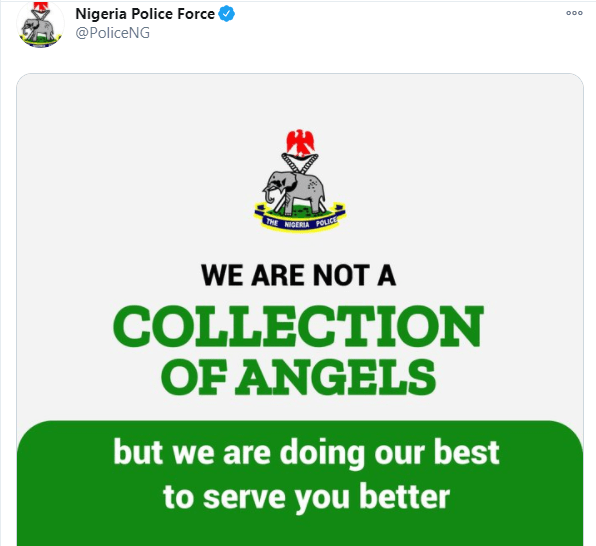 We are doing our best to serve you better - Nigerian police
