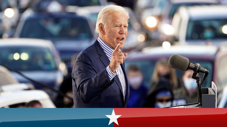 États-Unis 2020: Trump réagit après que Joe Biden l'a appelé à tort