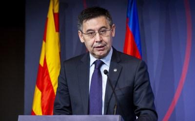 Barcelona president Josep Maria Bartomeu and his entire board of directors resign