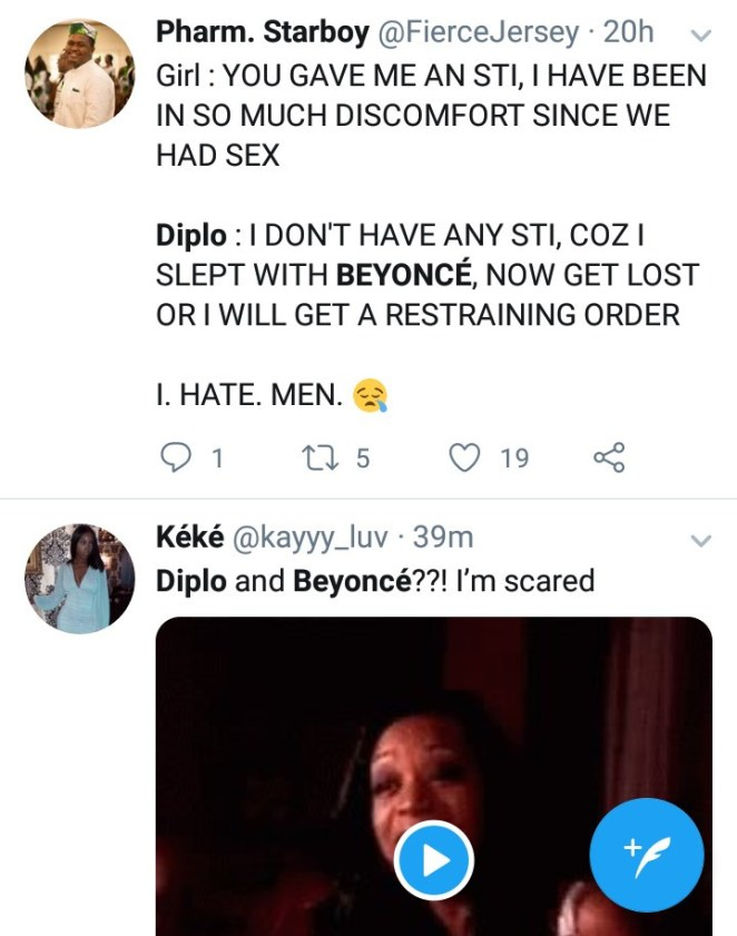 Diplo claims he slept with Beyonce; women react