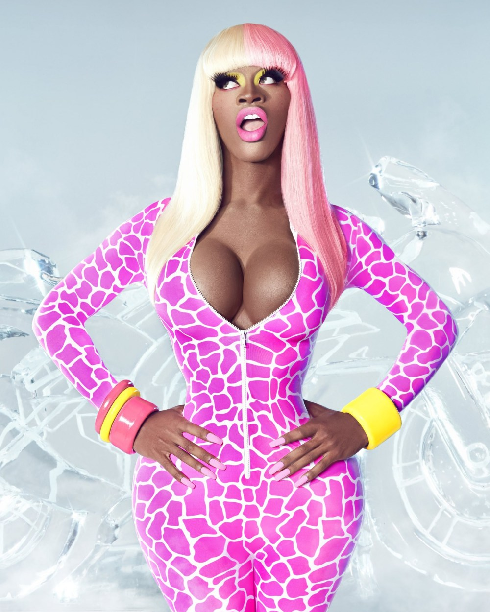 Lil Nas X transforms into Nicki Minaj for Halloween
