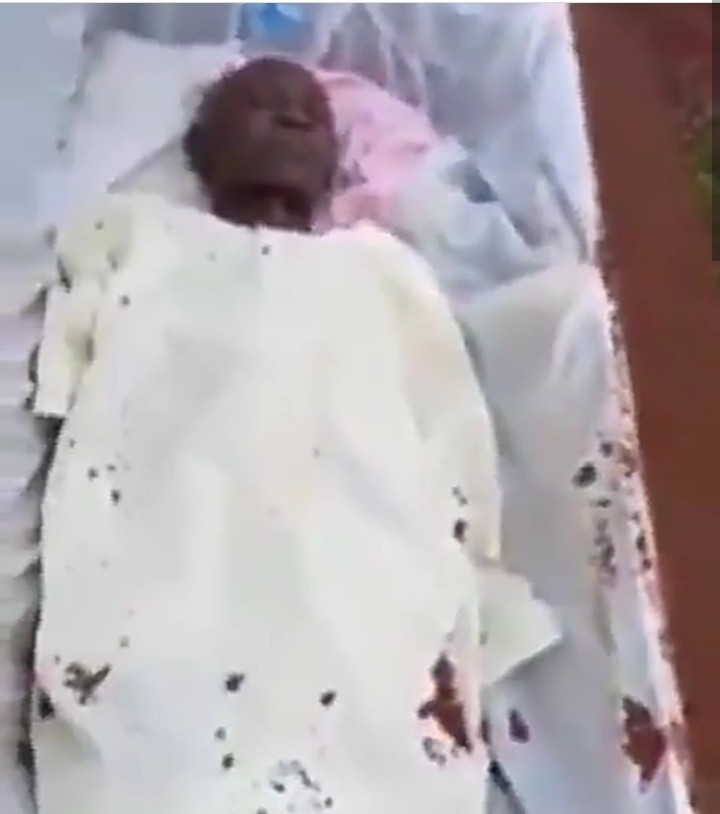 "Dead man ""breathing"" after his corpse was exhumed one year after his death (video)"